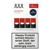 JUUL Red Berries pods Kartuş 1.8%