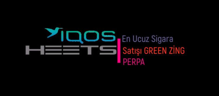 En Ucuz IQOS HEETS Sigara Satışı Green Zing Perpa
