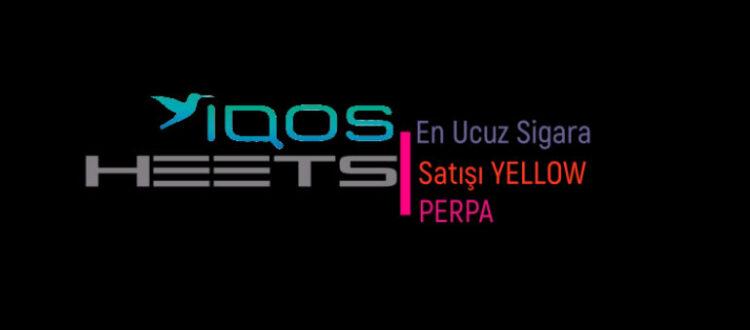 En Ucuz IQOS HEETS Sigara Satışı Yellow Perpa