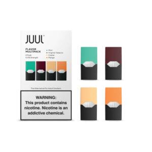 JUUL Starter Kit - Başlangıç Seti pods Kartuş 5%